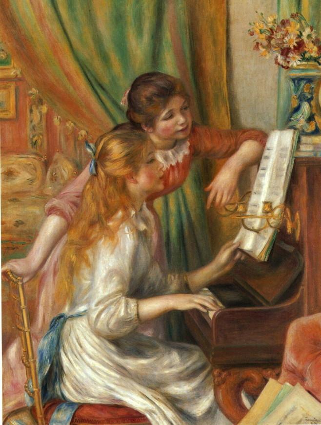 ルノワール ピアノ
